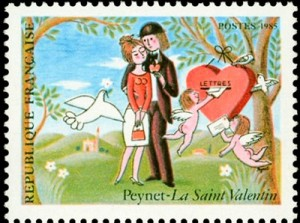 Peynet-saint-valentin