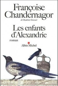 les-enfants-d-alexandrie-de-francoise-chandernagor